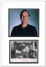 John Cleese Autograph Signed Photo Display